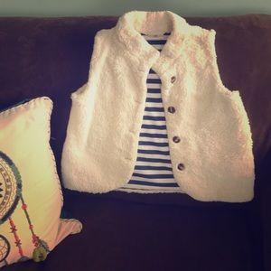 Cozy Hanna Anderson Fleece Vest Size 10 (140)